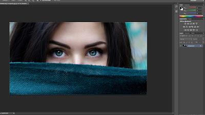 ubah warna mata