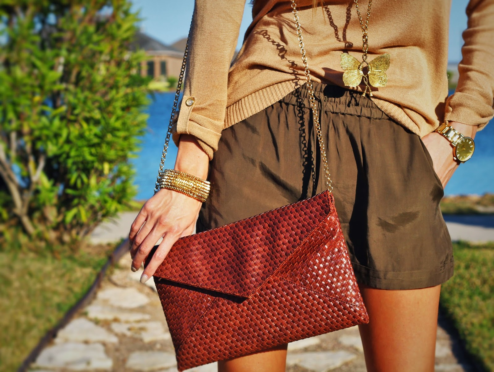 Olive Green Outfit Of The Day: Fab Philosophy By Brittney Blane: Outfit Of The Day: Camel