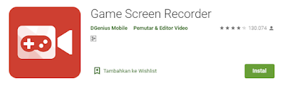 game screen recoreder