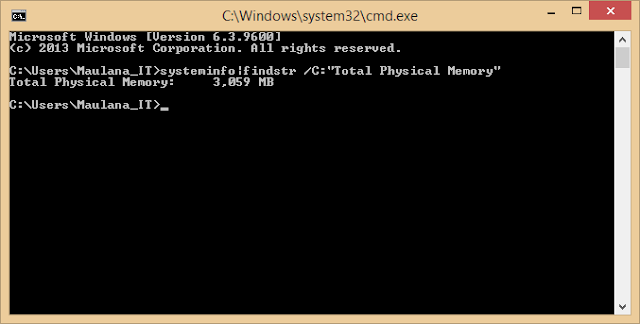 Use the Command Prompt