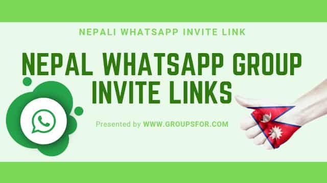 Nepali Girls whatsapp group invite links