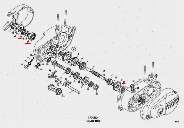 M80 Bultaco Sherpa Restoration: May 2014