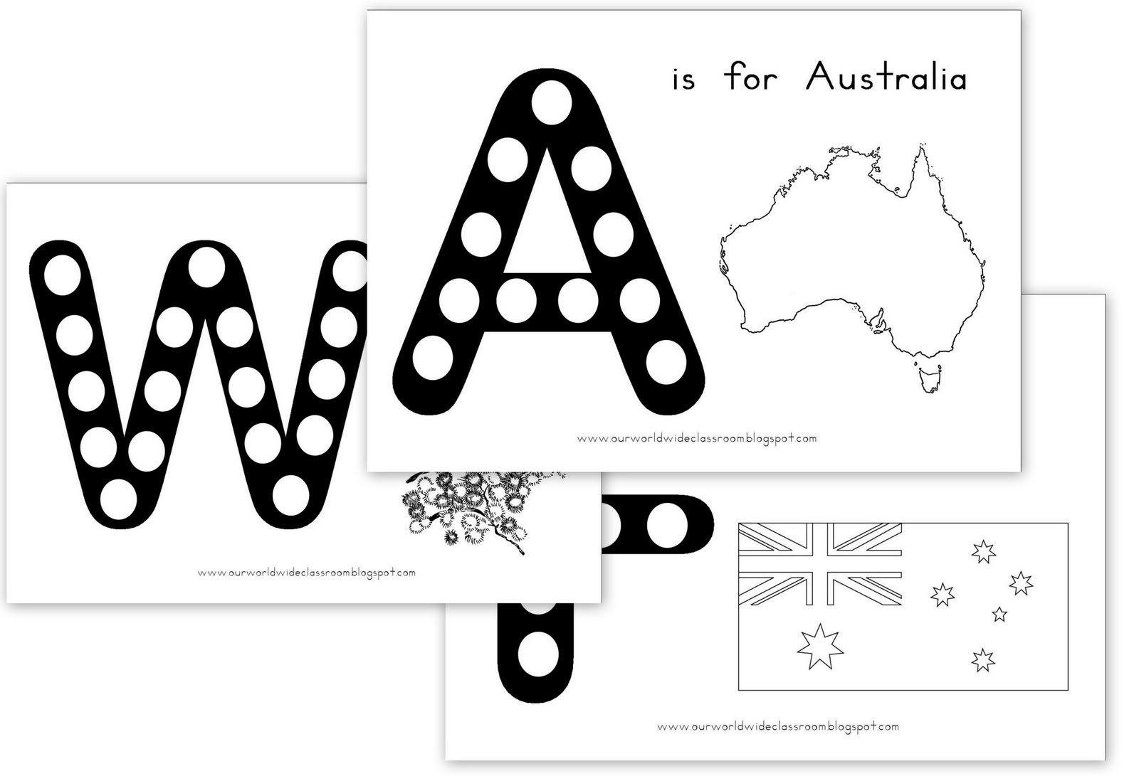 Our Worldwide Classroom Free Printable Australia Day Learning Packet