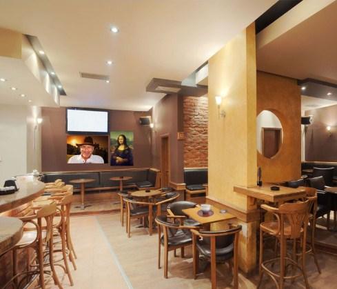 small coffee shop design