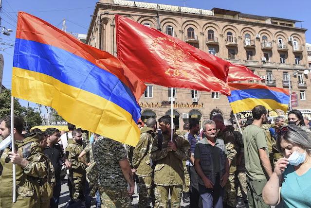 Η ανάμειξη της Ρωσίας και της Τουρκίας στη σύγκρουση της Αρμενίας και του Αζερμπαϊτζάν