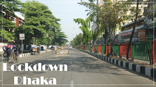 Lockdown Dhaka