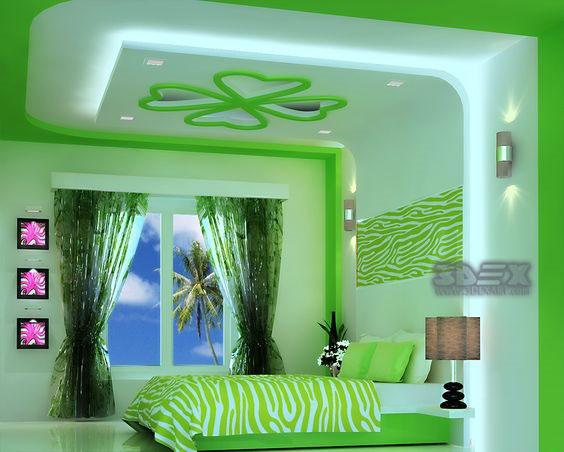 Modern gypsum board false ceiling designs prices for Bedroom gypsum design