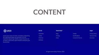Responsive Footer Design using CSS Flexbox