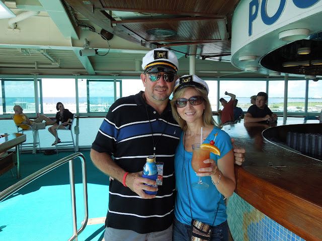 aboard Monarch of the Seas