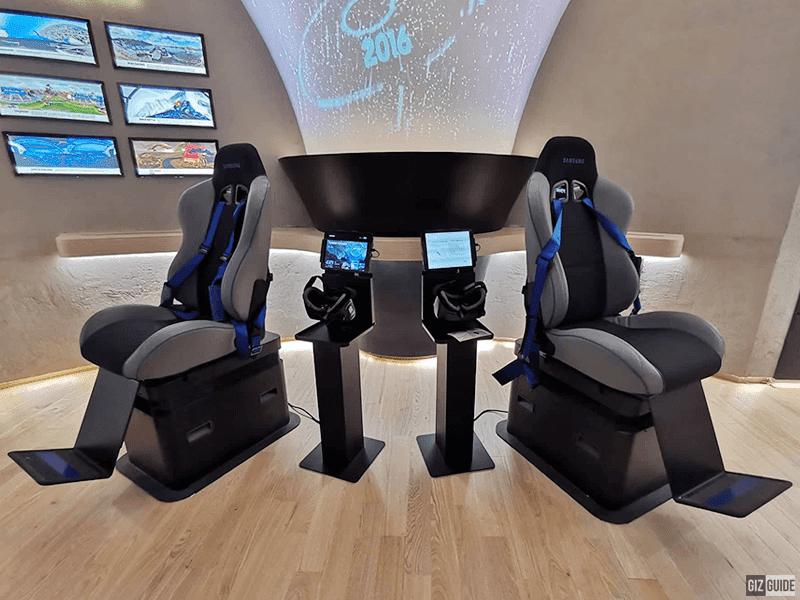 Gear VR area