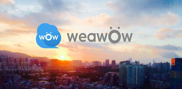 قم بتنزيل Weawow Weather & Widget 4.4.0 - عالم أرصاد جوية جميل ودقيق لنظام الاندرويد