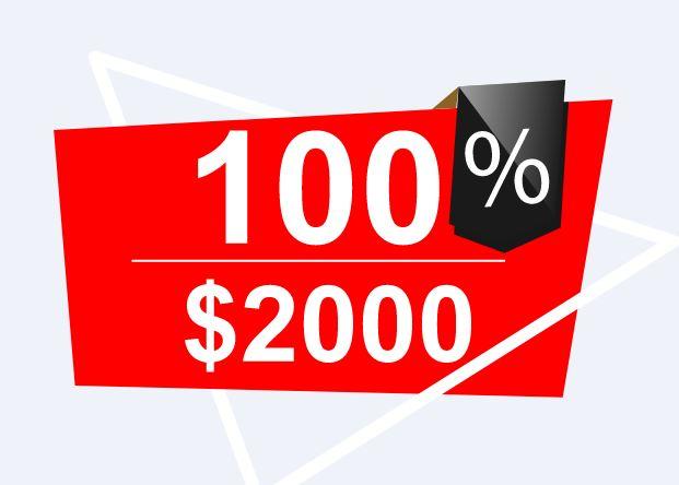 Bonus Deposit CWG Markets 100%