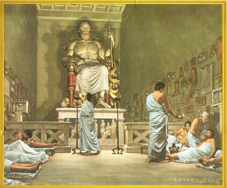 A História Mítica de Asclépio (Esculápio)