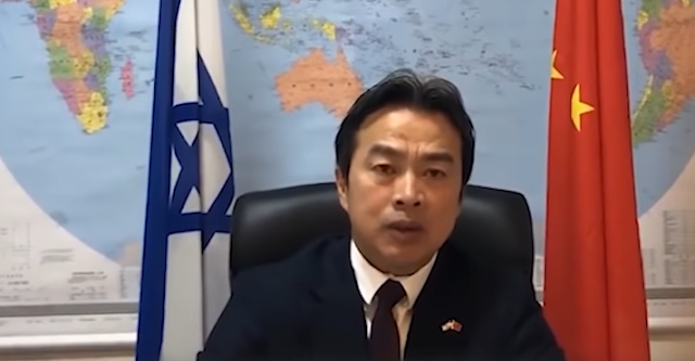 CHINESE AMBASSADOR FOUND DEAD IN ISRAEL