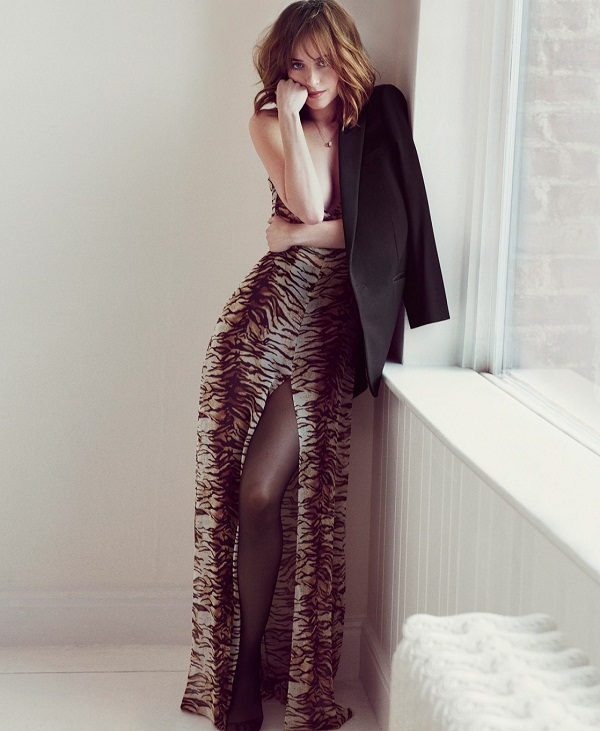 Dakota Johnson Marie Claire Hot Photoshoot