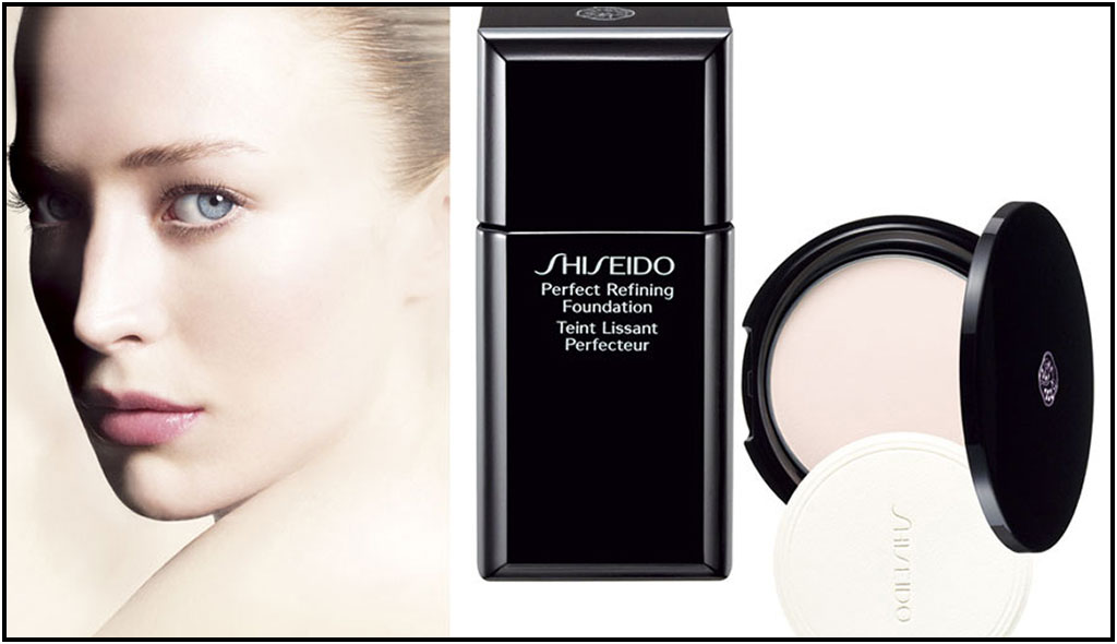 vanesa make up artist perfect refining foundation de shiseido. Black Bedroom Furniture Sets. Home Design Ideas
