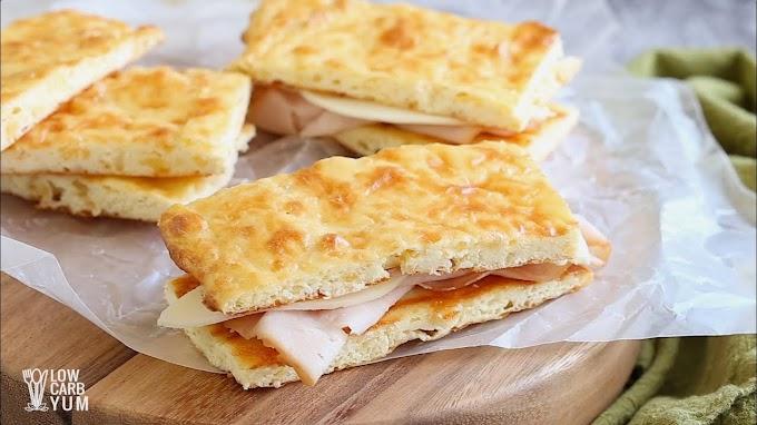 Nearly No Carb Keto Bread #healthyrecipe #dinnerhealthy #ketorecipe #diet #salad