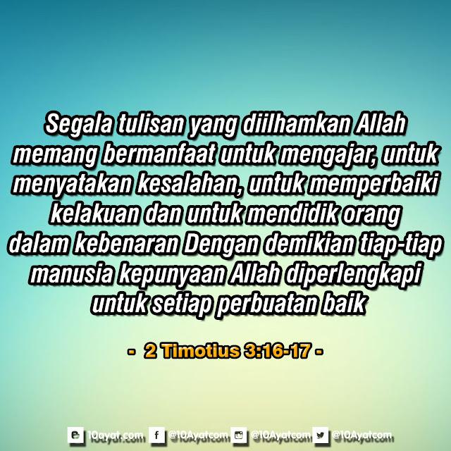 2 Timotius 3:16-17