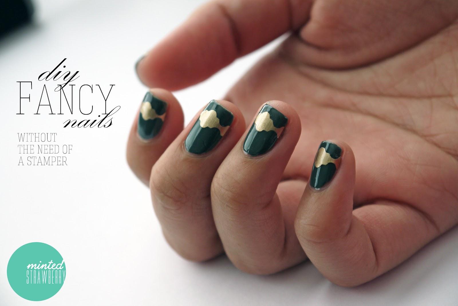 Nail Polish: Fancy Schmancy Nails - Minted Strawberry
