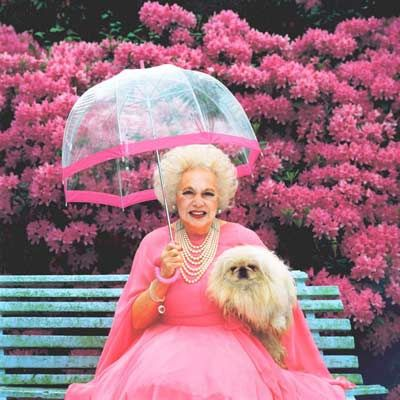 Dame of good manners: Barbara Cartland's etiquette rules are back in fashion {Cool Chic Style Fashion}