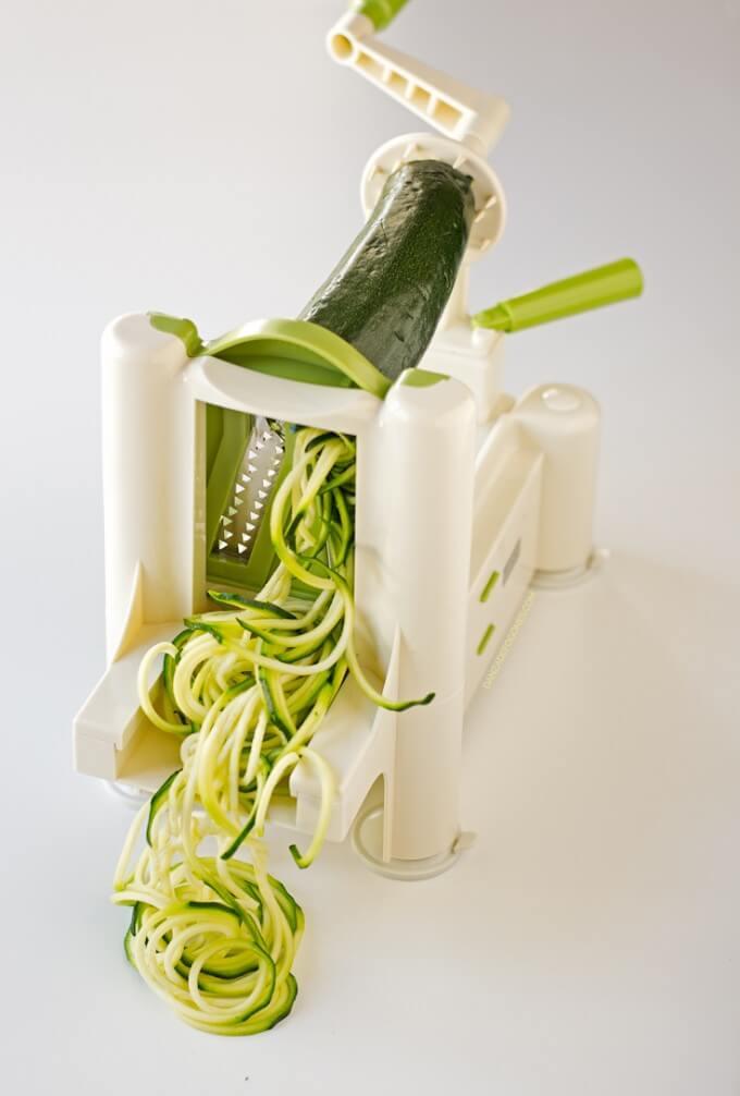 Healthy & Light Zucchini Spaghetti