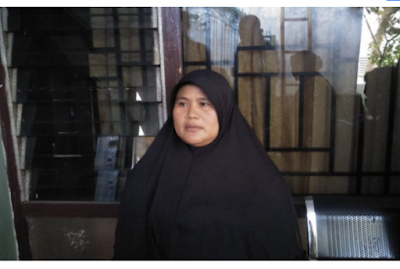 Prayatiningsih, 52, warga Kelurahan Semayan, Kecamatan Praya, Kabupaten Lombok tengah, digugat anak kandung ke Pengadilan Agama Praya, karena harta warisan yang ditinggalkan almarhum suaminya. Foto: SC/Antara