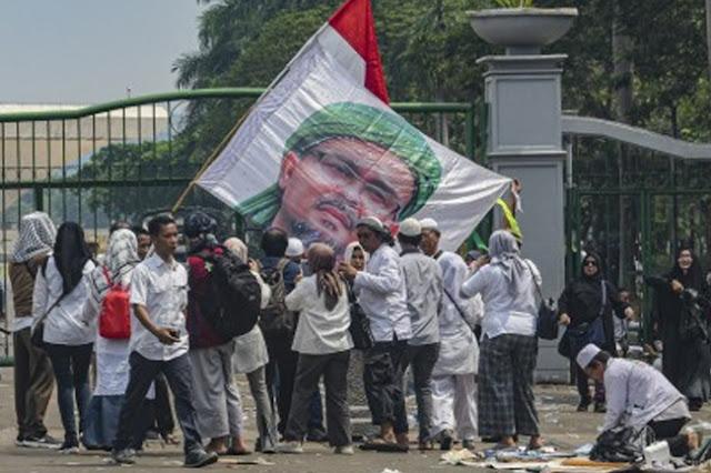 Habib Rizieq: Ahok Lengser Meski Didukung Jokowi-PBNU-9 Naga