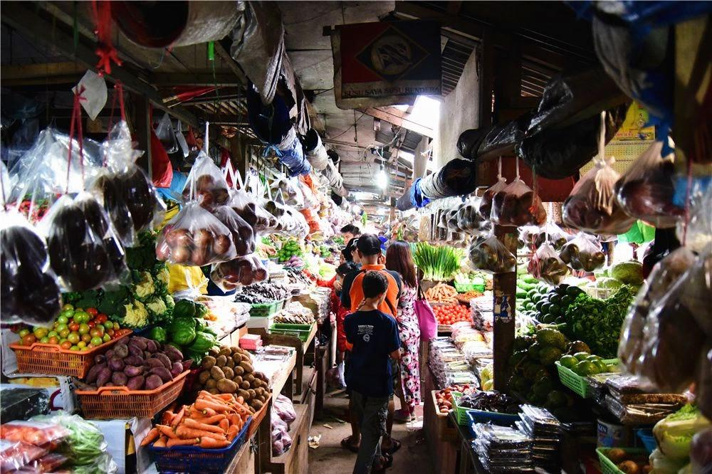 Malino Market Makassar Indonesia