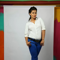 Glamorous Sharmila mandre photoshoot gallery in tight jeans