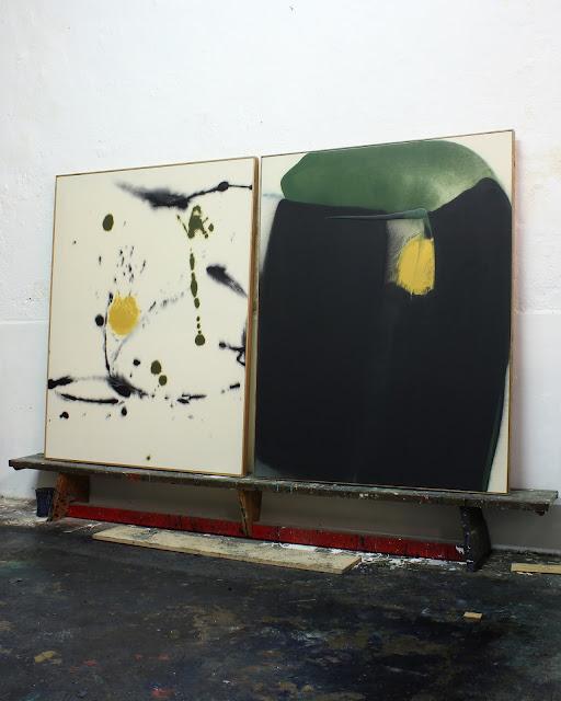 abstract painting jean baptiste besançon