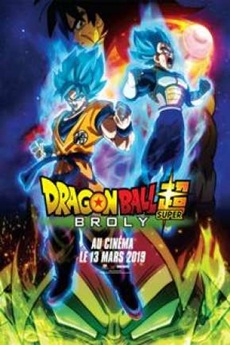 Capa Dragon Ball Super – Broly – Bluray 720p e 1080 Dual Áudio (2019) Torrent