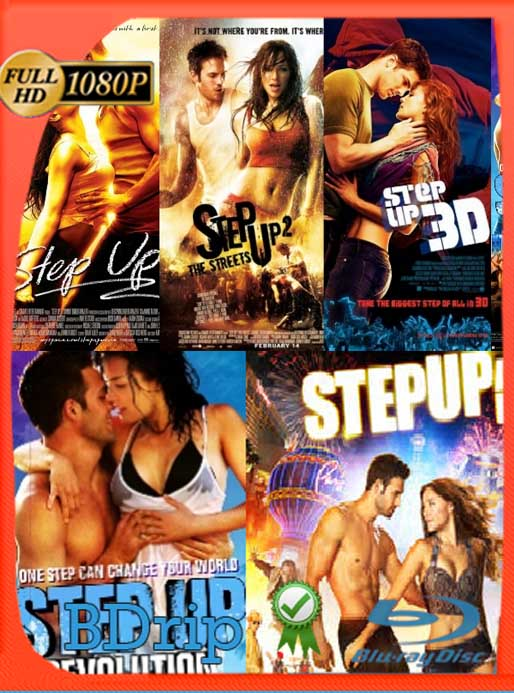 Step Up 1-2-3-4 (2006-2014) BDRip [1080p] Latino [GoogleDrive] SilvestreHD