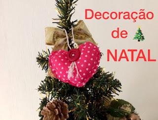 decoracao de nata, lembranca barata para o natal, artesanato para o natal, cuore natalizio, coracao natalino, costura a  mao , cucire a mano