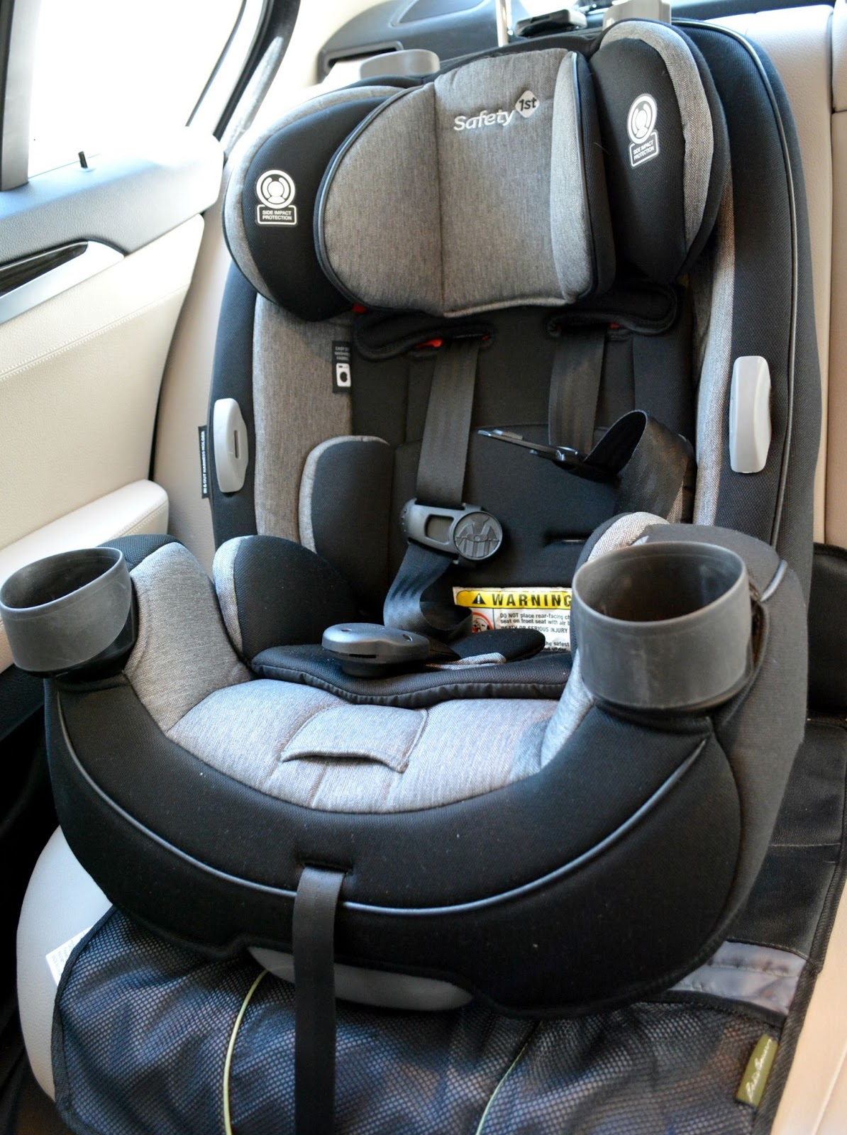 Safe Travel With Safety First Grow And Go 3 In 1 Convertible Car Seat