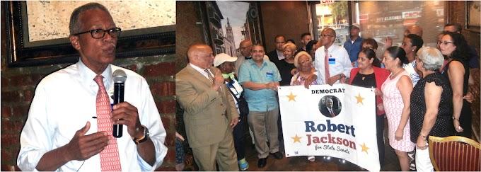 Comité de líderes y activistas latinos anuncia respaldo a candidatura de Robert Jackson para senador estatal