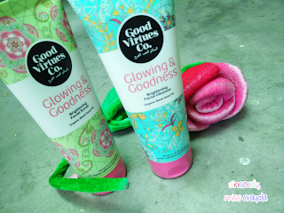 Good Virtues Co. Facial Scrub and Facial Cleanser