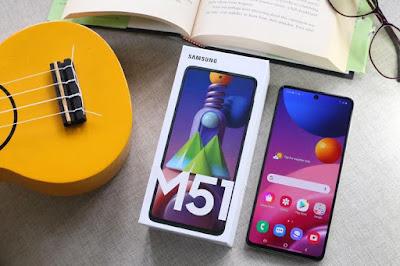 Spesifikasi dan Harga Samsung Galaxy M51 Terbaru