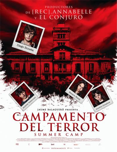 Ver El campamento del terror (Summer Camp) (2015) Online