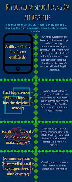 Jonah Engler - App Developer Infographic