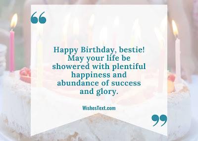 best friend birthday wishes