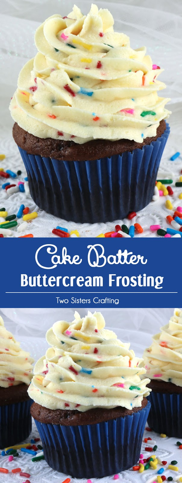 Cake Batter Buttercream Frosting