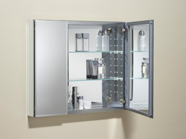 Bathroom mirror medicine cabinet B