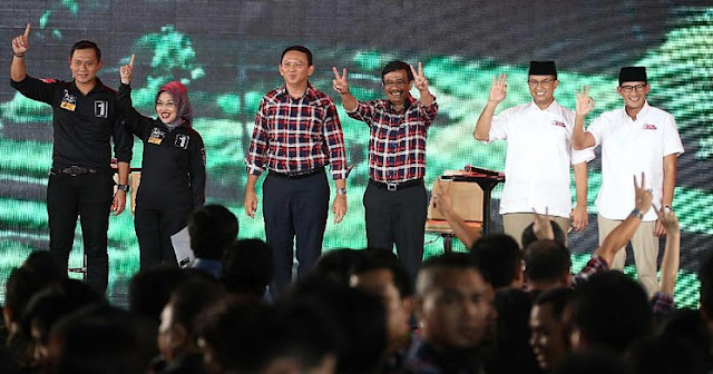 Pukulan Berat, Polling Lembaga Ini Gambarkan Perolehan Agus Makin Ancur paska Debat Final Kandidat. Photo: Detik.com