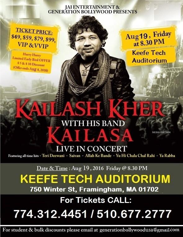 Kailash Kher Live Concert 2016