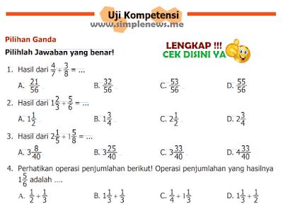 Kunci Jawaban Uji Kopetensi Halaman 15 16 Matematika Kelas 5 Kurikulum 2013 www.simplenews.me