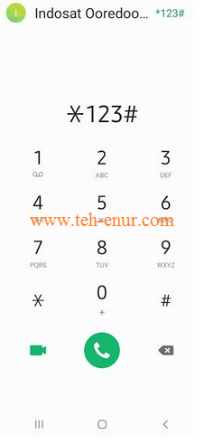 Cara mengubungi layanan *123* Indosat
