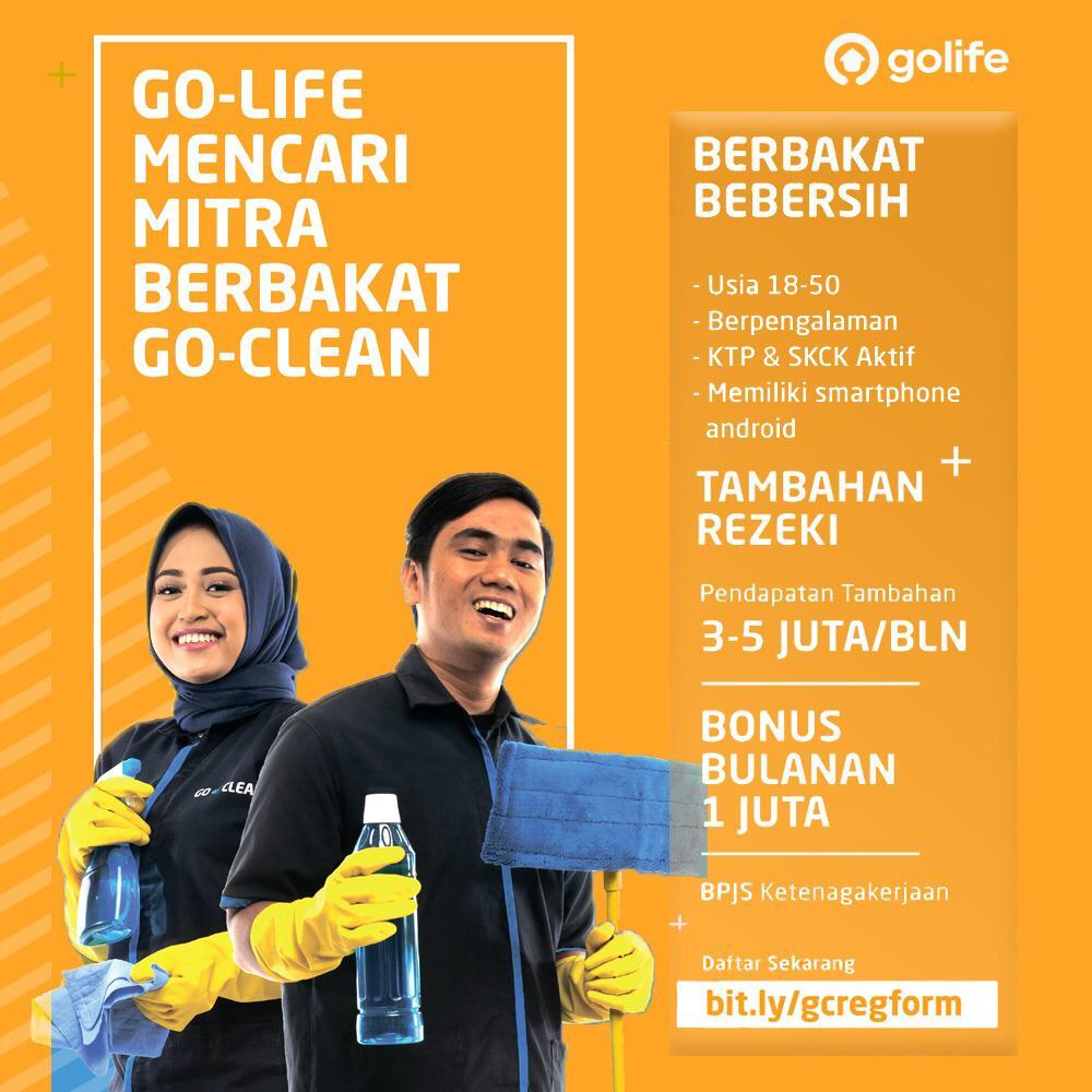 Buruan Go Life Mencari Mitra Berbakat Go Clean Konkrit News