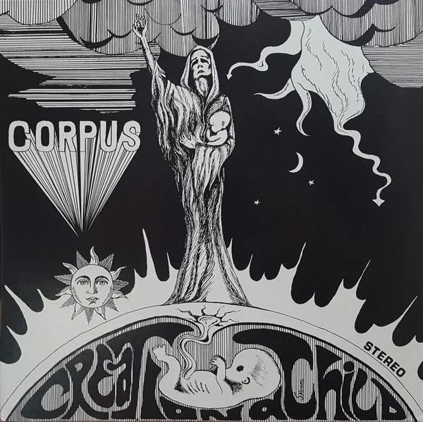 Corpus - Creation a Child (1971, Rock Psicodélico, Blues Rock)