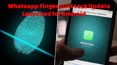 Whatsapp adiciona recurso de bloqueio por impressão digital para Android