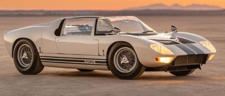 Auction for Ford GT40 Roadster supercar worth more than 9 million USD